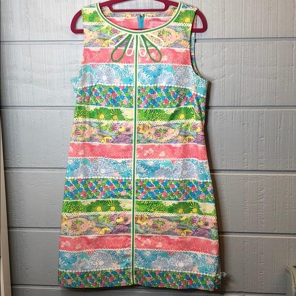 Lilly Pulitzer Dresses & Skirts - Lilly Pulitzer pattern stripe shift dress
